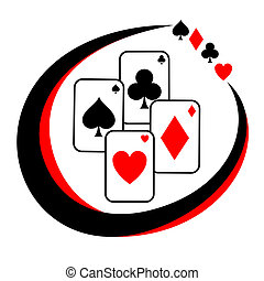 Poker icon - Creative design of poker icon