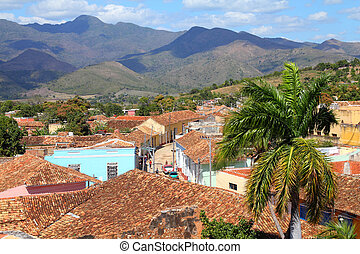 Trinidad, Cuba - colonial town cityscape UNESCO World...