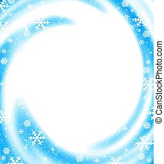 Christmas border card