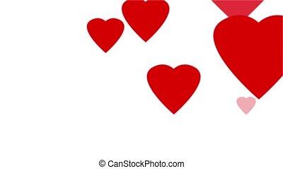 Pop-up Hearts Loop
