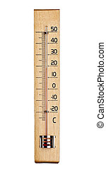 thermometer measurement temperature - close up of a...