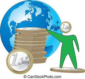 economia - euro mondiale