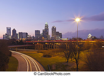 Charlotte, NC - Charlotte is the largest city in the state...