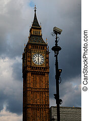 Big Ben and CCTV, London