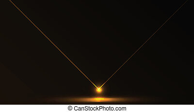 Vector abstract laser background - Nice vector laser light...