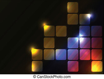 Vector abstract moder background