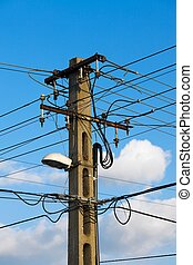 Electricity - Electric lines crossing
