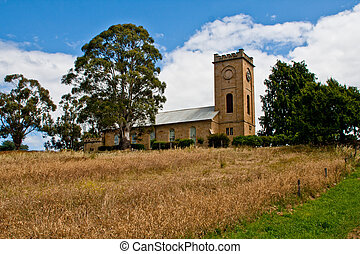 Richmond farmland - Farmland outside of Richmond, Tasmania