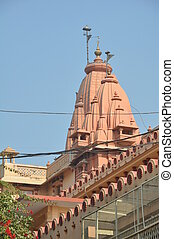 Birthplace of Lord Krishna in Mathura, India