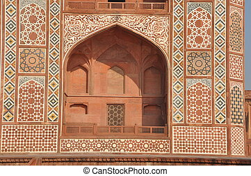 Akbar's Tomb in India - Akbar's Tomb at Sikandra (Agra) in...