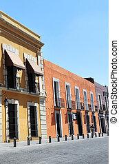 Puebla City Buildings in Mexico