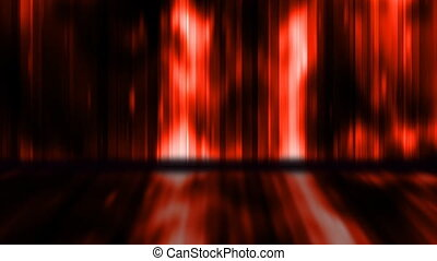Color Strobe Display Wall Looping Animated Background