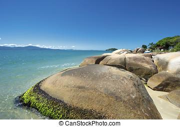 Ingleses Beach (Praia dos Ingleses), Florianopolis, Brazil -...