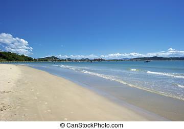Ingleses Beach Praia dos Ingleses, Florianopolis, Brazil -...