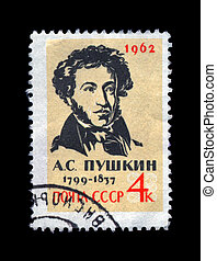 USSR - CIRCA 1962: cancelled stamp printed in the USSR,...