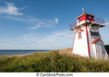 Covehead Lighthouse in Stanhope, Prince Edward Island