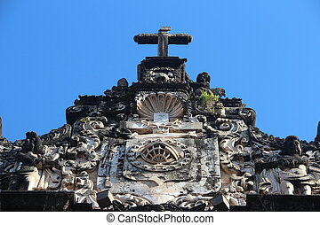 Sao Francisco Third Order Church - Detail. Sao Francisco...