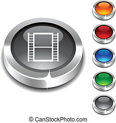 Cinema 3d button.
