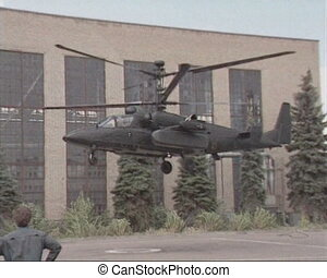 Helicopter gunship