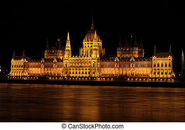 Hungarian parliament building, Budapest - beautiful building...