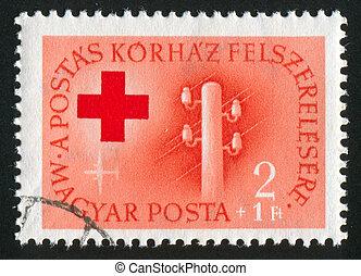 poste, telégrafo