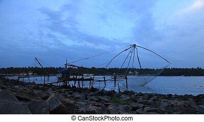 Cheena vala (Chinese fishing net) - The Chinese fishing nets...