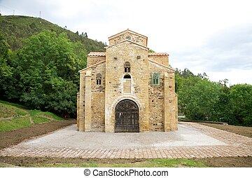 San Miguel de Lillo facade