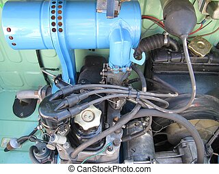 Motor vintage - mechanic simple motor vintage