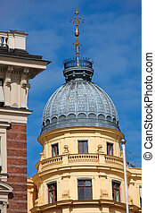 Architectural detail in Stockholm