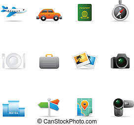 Web Icons - Travel