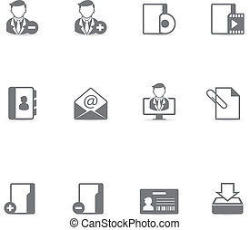 Single Color Icons - Collaboration - Group collaboration...