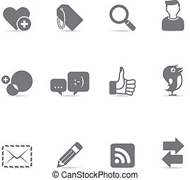 Single Color Icons - Social Network - Social network icon...