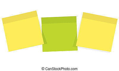 Post it  for reminder note