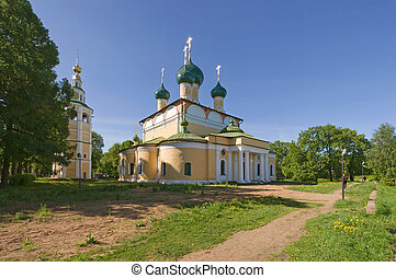 Beautiful church - Transfiguration Cathedra in Uglich with...