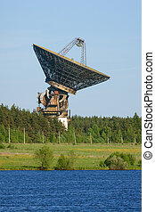space communication antenna