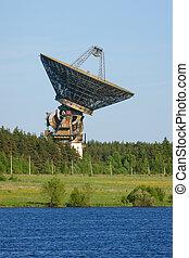 コミュニケーション, アンテナ, スペース