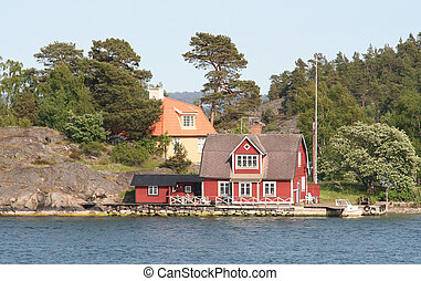 Home By The Sea - Idyllic house by the sea in Swedish...