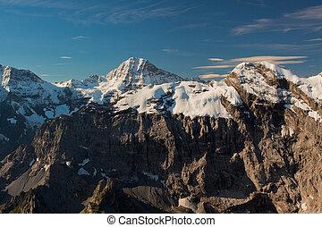 vista, Schilthorn, montagna