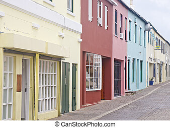 Colorful Shops in Bermuda