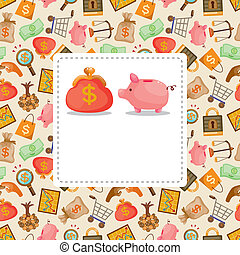 cartoon Finance & Money card