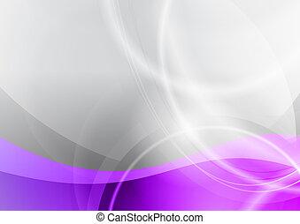 紫色, 背景