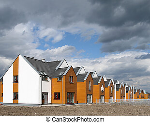 Housing development - Modern singly-family terraced homes in...