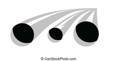 gas pipes on white background, vector illustration