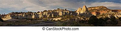 Desert Hoodoo panorama