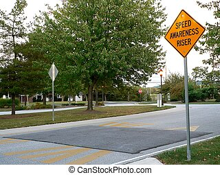politically-correct speed bump - Politically-correct speed...