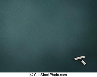 empty chalkboard - 3d illustration of empty chalkboard...