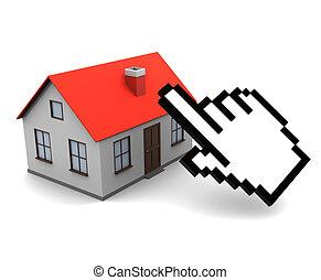 online real estate buy