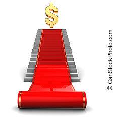 red carpet to dollar award