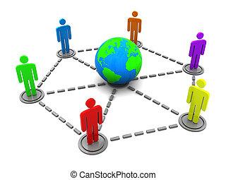 Welt, Kommunikation