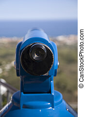Monocular - monocular seeing sea